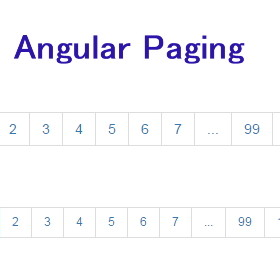 Angular-Paging | An easy to use paging directive for angularjs