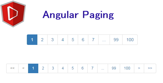 angular-paging module
