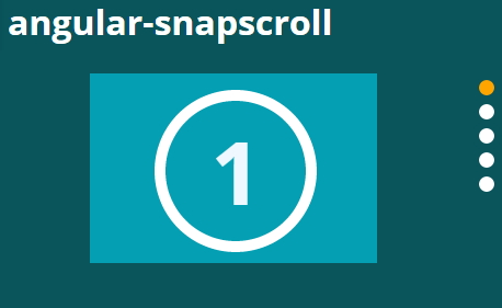 angular-snapscroll | Vertical scroll-and-snap functionality