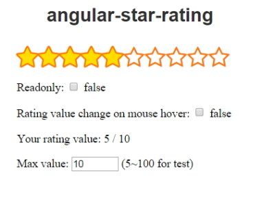angular-star-rating