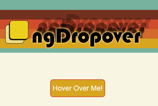 ngDropover directive