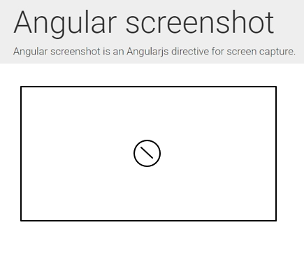angular-screenshot | Angularjs-directive for screen capture
